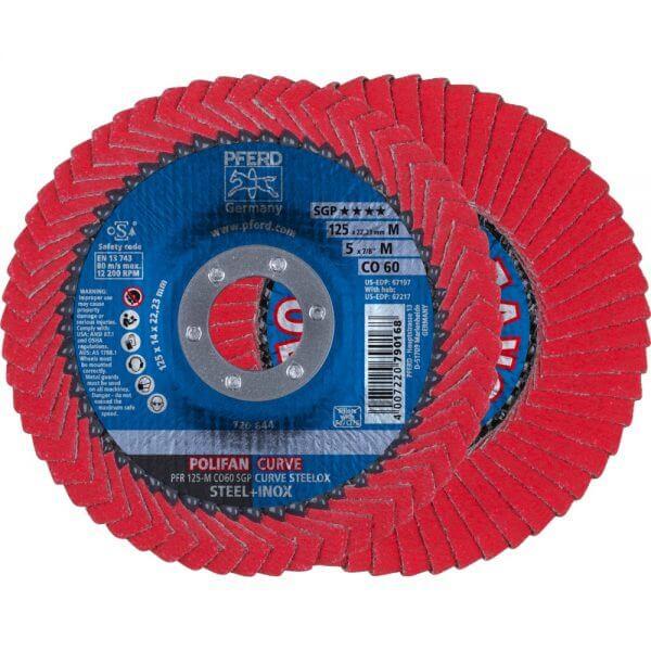 PFERD PFR SGP CO-CURVE лепестковые торцевые круги